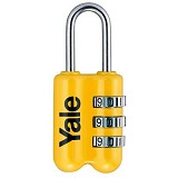 YALE Travel Lock [YP2/23/128/1Y] - Yellow - Gembok Kombinasi